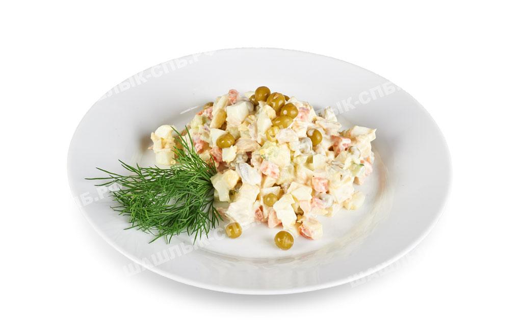 Столичный салат рецепт с курицей с